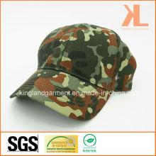 Perceuse en coton Armée / Militaire Verre à l'huile vert Camouflage Imprimer Bonnet de baseball