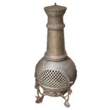 Chimenea de chimeneas de hierro fundido (FSL016) Chimenea de barbacoa