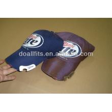 Gorra de béisbol de la tela de la tela cruzada del algodón de la manera 100%