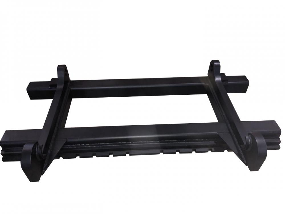 Black Painting Welding Fabrication Forklift Attachment