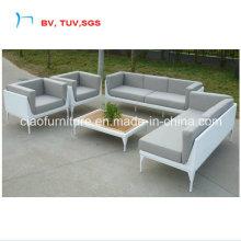 2016 Патио ротанга угловой диван с кофейным набором (CF835)