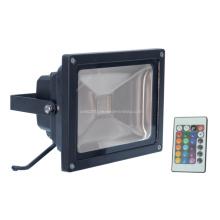 Venda quente ao ar livre 50W RGB LED COB Flood Light