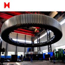 large diameter steel gear