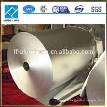 Feuille d'aluminium de qualité alimentaire 8011 1235 8079 pour emballage en chocolat, pour sac à thé, pour sac de yogourt