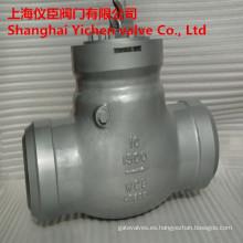 Sello de presión de 1500lb 10 en forjado acero válvulas de retención