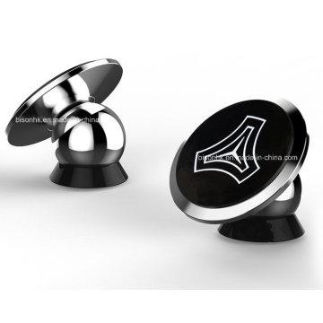 Venta de la fábrica 360 grados de rotación titular del teléfono del coche, teléfono móvil magnético soporte titular