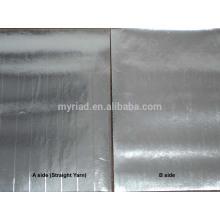 Folha de alumínio dobro do lado, dupla face Foil-Scrim-Kraft que endireita, folha de alumínio Material da isolação