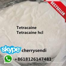 El analgésico anestésico local de la relevación de dolor del polvo de Tetracaine droga la base de Tetracaine
