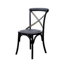 Cadeira de jantar preta