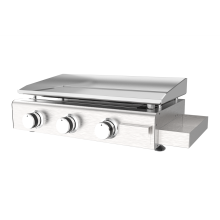 Three Burner Gas Griddle Grill