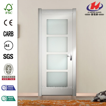 Aluminium Commercial 4-Panel Sliding Grill Glass Doors
