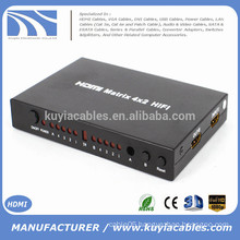 High quality 4x2 HDMI Matrix with remote controller converter