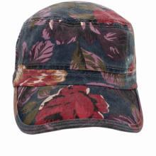 Heißer Verkauf hochwertiger Baumwolle Flat Top Cadet Cap