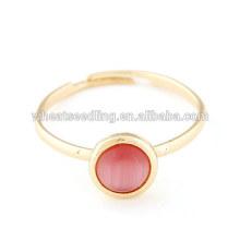 Anéis Opal anel moda barata ajustável