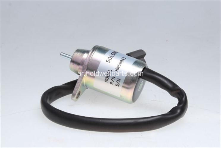 Holdwell 12V stop solenoid 1503ES-12S5SUC11 for Yanmar