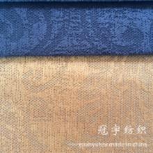 Tissu composé de relief de velours côtelé pour la décoration