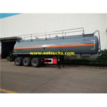 Semi-remorques de livraison HCl 28000l 3 essieux