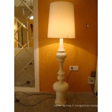 Lampadaires décoratifs de plancher de pièce de lampe de plancher de Zhongshan Downlight de tissu