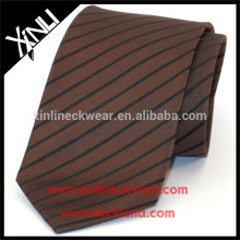 100% Handmade Silk Woven Mens Stripe Neck Tie