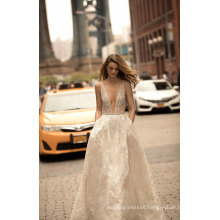 2017 New Fashion Lace Party Evening Prom Gowns Bridal Wedding Dress