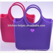 Eco-Friendly Materialien Tasche Gummi-Tasche Silikon Tote O Tasche
