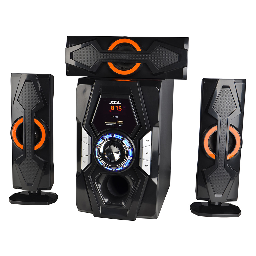 Home theater system for music