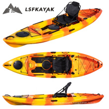 Alibaba online trade show factory wholesale 3m single sit on top deck padding kayak for fishing LSF213