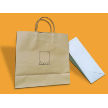 New Design Custom Cmyk Kraft Paper Gift Bag /Paper Shopping Bag