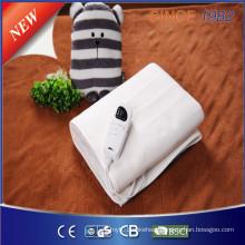 Electric Blanket with Computer Adjusting Controller for Massage