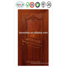 HDF door skin with veneer , melamine paper, or white primered