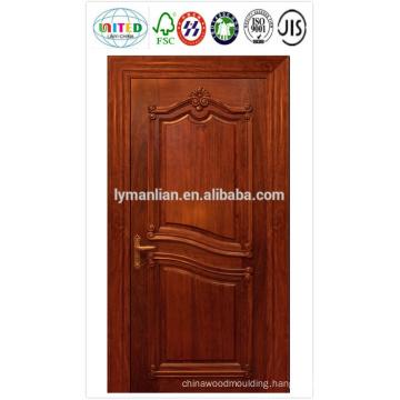 HDF door skin with veneer , melamine paper, or white primered