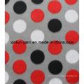 Tissu 100% de polaire de polyester de tissu de polaire de flanelle pour la couverture