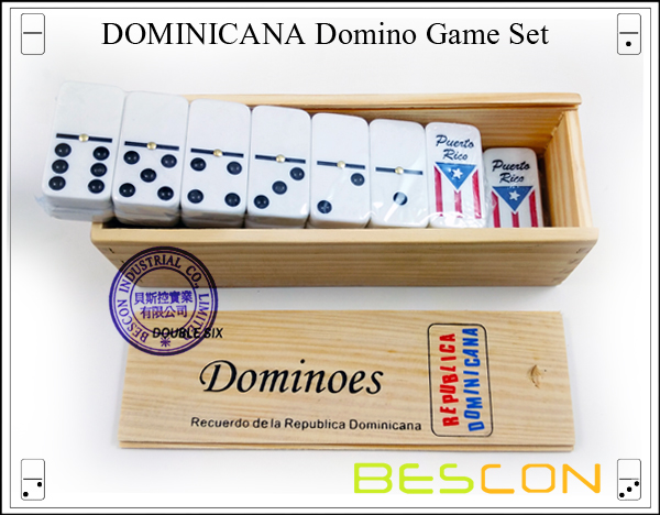 DOMINICANA Domino Game Set-4