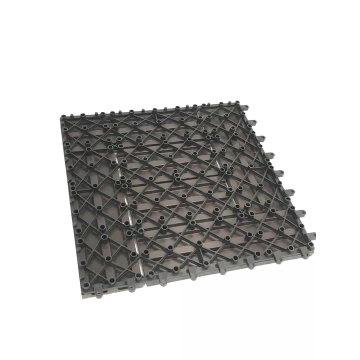 WPC Waterproof Interlocking Composite Decking Tiles