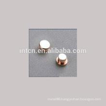 Ag/Cu Electrical Bimetal Contacts