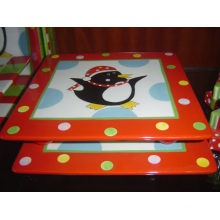 Ceramic Square Tray Hand Painted Tray