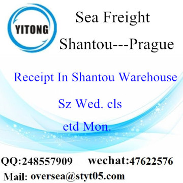 Shantou Port LCL Consolidation To Prague