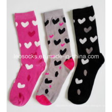 Fashion Custom Women Happy Socks