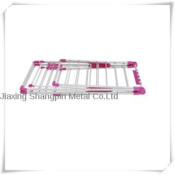 Iron Pipe Folding Clothes Drying Hanger and Racks