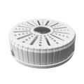 Caixa de junção plástica universal para o suporte interno do adaptador do poder das câmeras do CCTV