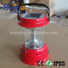 Plastic ABS/Transparent PC portable led lantern camping led solar lantern outdoor