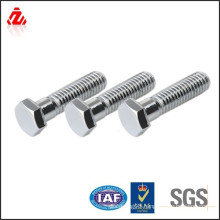 stainless steel DIN931 half thread bolt