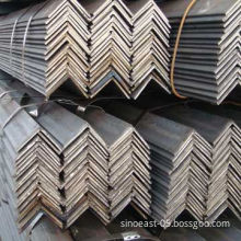 Black Equal Angle Steel Bars, Available in 20 to 200mm Sizes, with 6, 9 and 12m Lengths