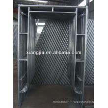 système de cadre modulaire en aluminium