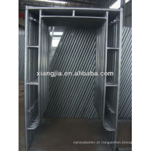 sistema de quadro modular de alumínio