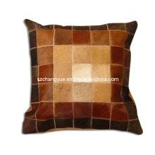 Almohadas de trabajo de un lado de piel natural sin rellenos
