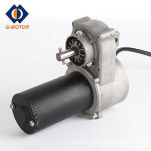 Garage door opener DC gear motor