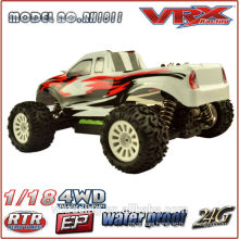 VRX Racing 1:18th electric powered truck in factory price