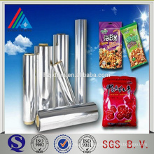 Aluminum Metallized bopp film for food sealable packaging materials