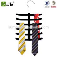 Krawattenhalter aus Gummi schwarz